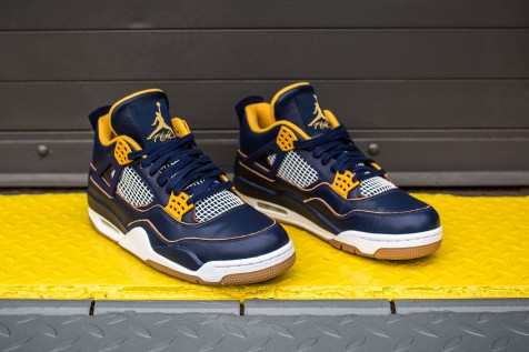 Air Jordan IV 'Dunk From Above' web crop angle