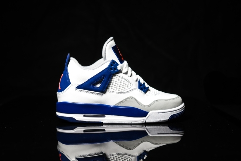Air Jordan IV white-blue-infrared-1