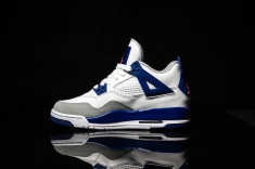 Air Jordan IV white-blue-infrared-2