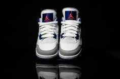 Air Jordan IV white-blue-infrared-5
