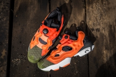 Instapump Fury ASYM Canopy Green-Peach-Red-13