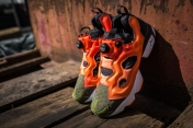 Instapump Fury ASYM Canopy Green-Peach-Red-9
