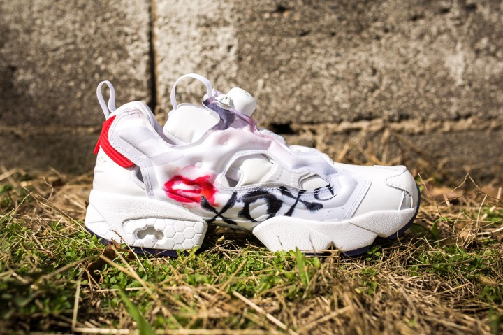 Instapump Fury Celebrate White-Red-Blue-Pink-Silver