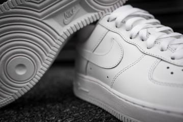Nike Air Force 1 white-white-12