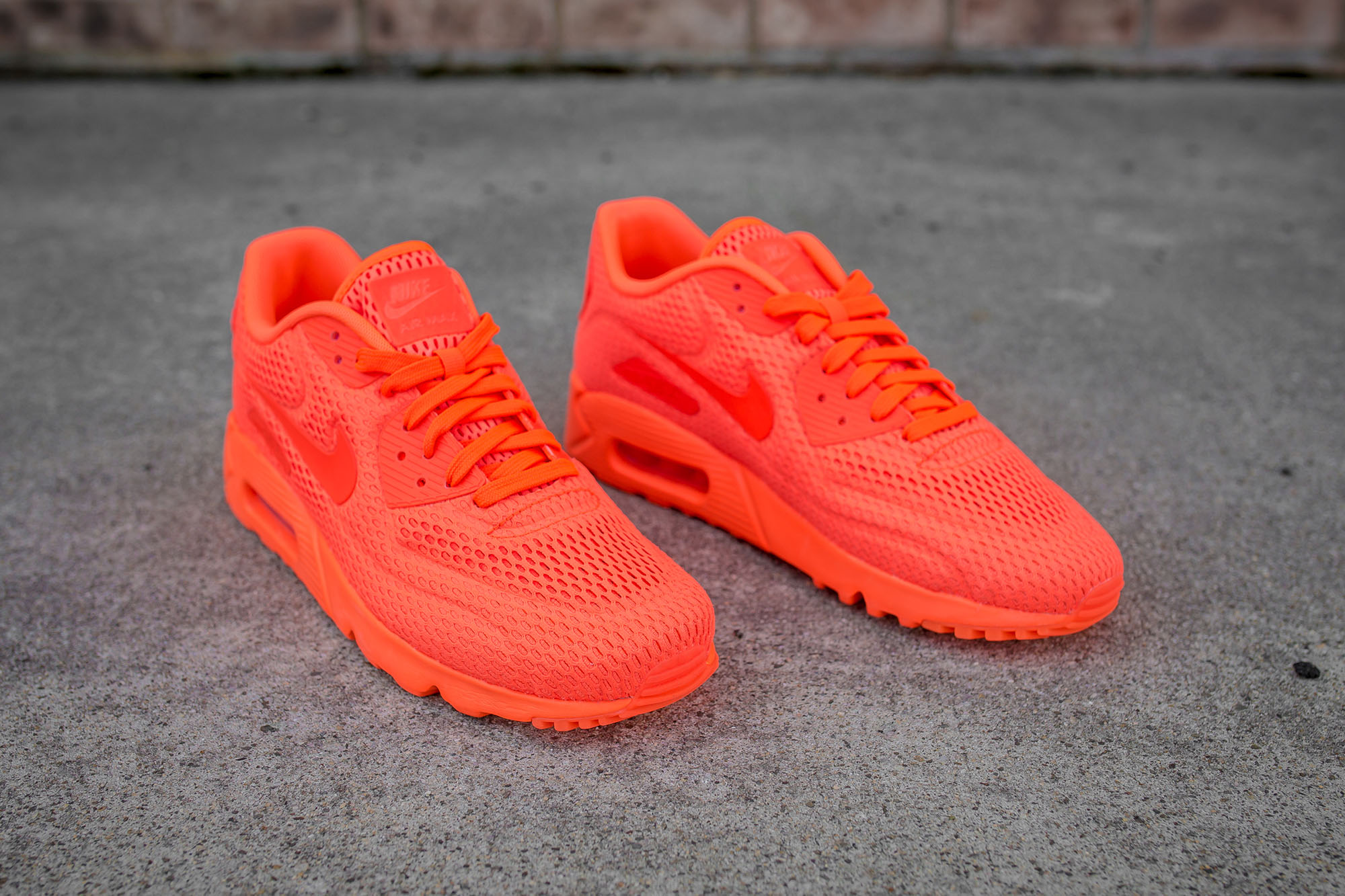 Neon Orange And Pink Nike Shoes