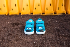 Sesame Street x Puma Suede Kids Cookie Monster-4