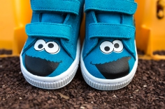 Sesame Street x Puma Suede Kids Cookie Monster-8