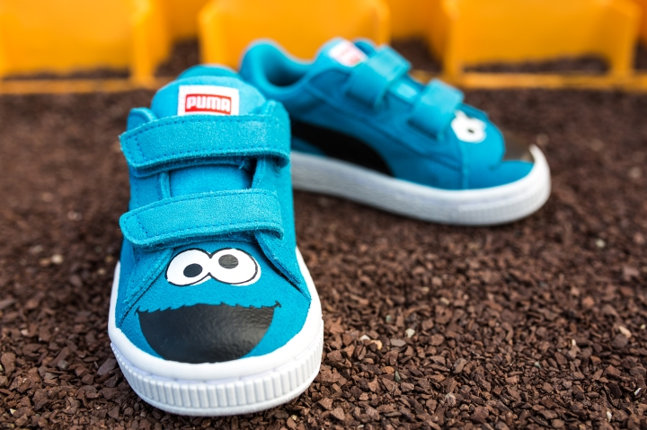 Sesame Street x Puma Suede Kids Cookie Monster-9