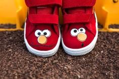 Sesame Street x Puma Suede Kids Elmo-10
