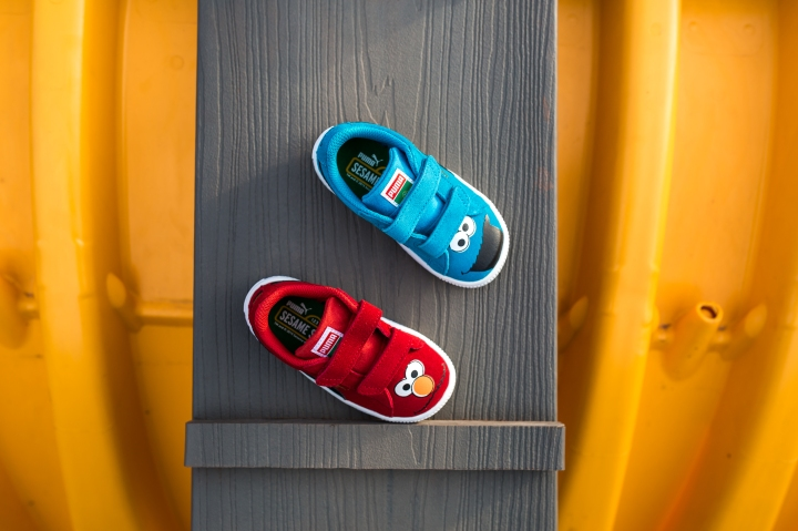 Sesame Street x Puma Suede Kids group-4