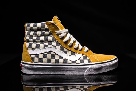 Vans Sk8-Hi Reissue checkerboard SprceYw-Nvy