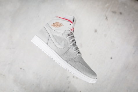 Air Jordan 1 retro high Nouv Lght BN-MTLC CPPRCN-White Infr-10