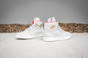 Air Jordan 1 retro high Nouv Lght BN-MTLC CPPRCN-White Infr-7