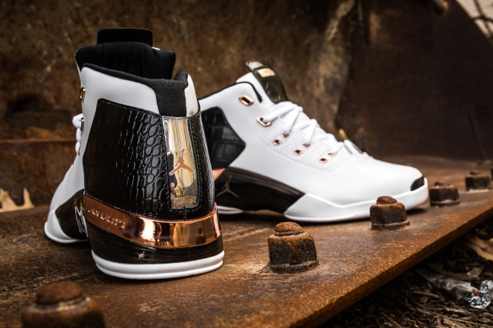 Air Jordan 17 retro white-metallic copper-black-10