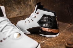 Air Jordan 17 retro white-metallic copper-black-14
