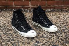 Converse Chuck Taylor woven black-black web crop angle