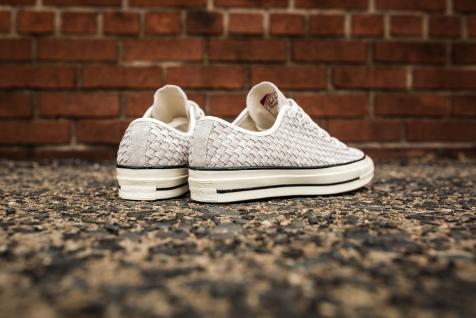 Converse Chuck Taylor woven white-black-9