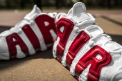 Nike Air More Uptempo white-gym red-13