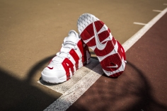 Nike Air More Uptempo white-gym red-16