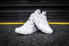Nike Huarache Run PRM White-White-10