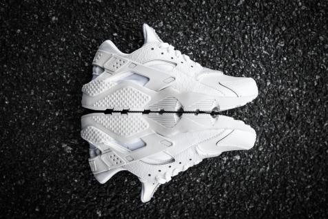 Nike Huarache Run PRM White-White-12
