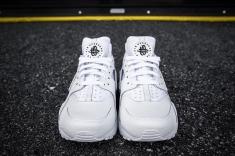 Nike Huarache Run PRM White-White-4
