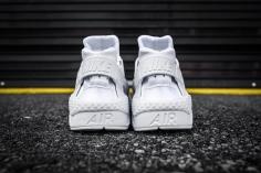Nike Huarache Run PRM White-White-5