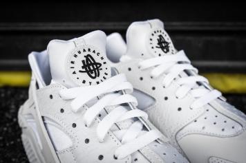 Nike Huarache Run PRM White-White-6