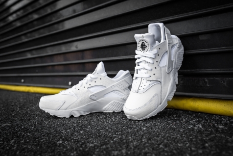 Nike Huarache Run PRM White-White-7