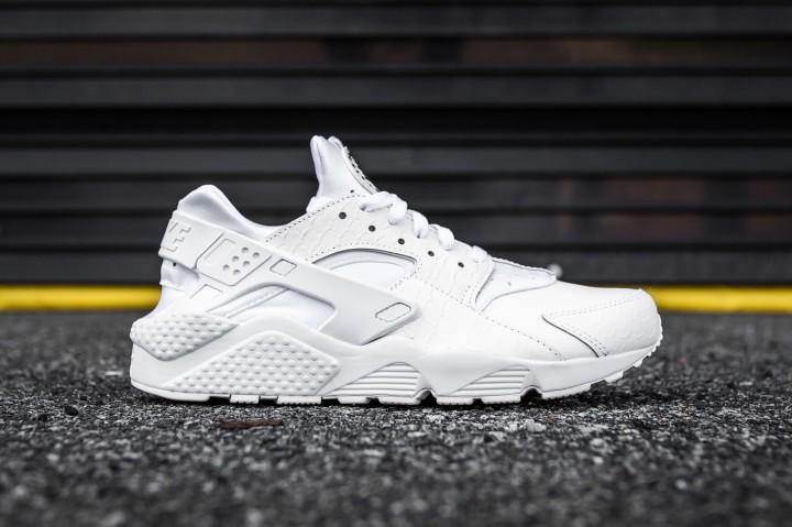 Nike Huarache Run PRM White-White