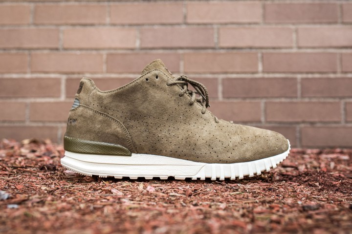 Publish Brand x Onitsuka Tiger 85 MT Samsara olive web crop side