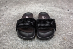 Puma Leadcat Fenty Slippers Black-Puma Silver-4