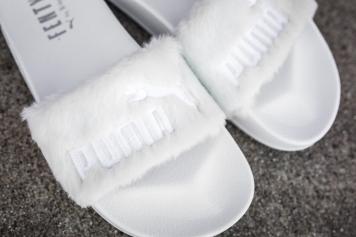 Puma Leadcat Fenty Slippers White-Puma Silver-10