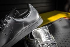 Raf Simons x adidas stan smith silver-10