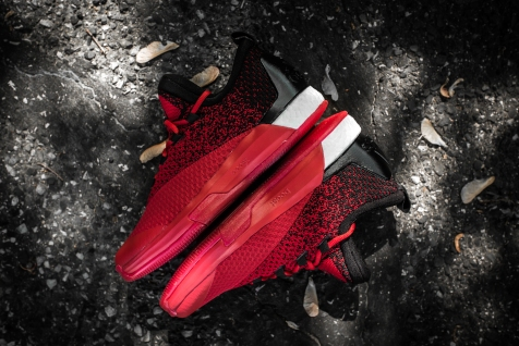 Adidas Crazylight Boost 2.5 Low Harden red-black-10
