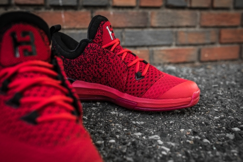 Adidas Crazylight Boost 2.5 Low Harden red-black-11