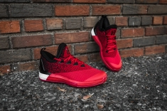 Adidas Crazylight Boost 2.5 Low Harden red-black-6