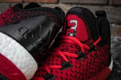 Adidas Crazylight Boost 2.5 Low Harden red-black-9