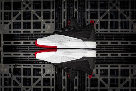 Adidas Crazylights White-Black-Red-9