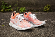 adidas NMD 'Camo Pack' Orange-Grey-Cream angle