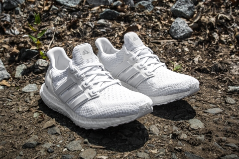 adidas Ultra Boost m White-Grey angle