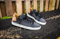adidas Vulc Lace Up Pharrell Williams Black-Granite-White-9