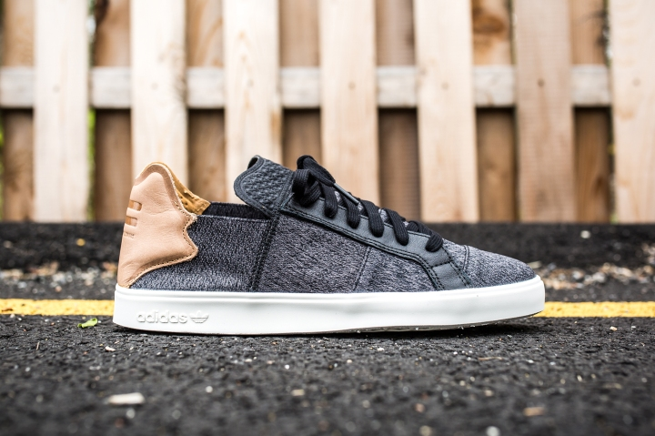 adidas Vulc Lace Up Pharrell Williams Black-Granite-White side