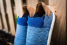adidas Vulc Slip On Pharrell Williams Blue-grey-white-12