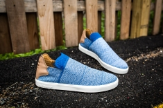 adidas Vulc Slip On Pharrell Williams Blue-grey-white-9