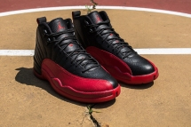Air Jordan XII 'Flu Game' angle