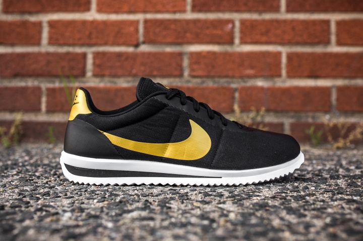 Nike Cortez Ultra QS Black-Gold side