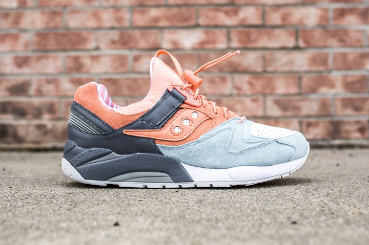 Premier x Saucony Grid 9000 'Sweets' side
