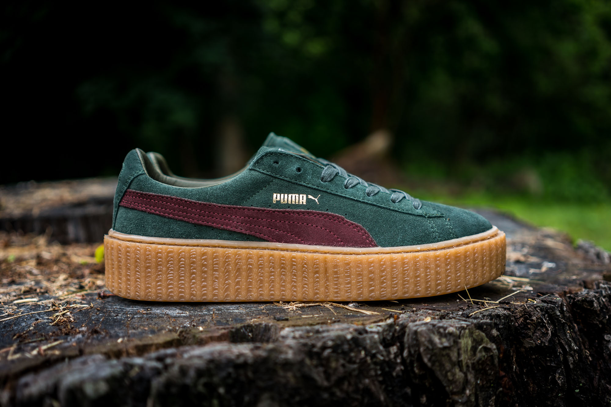 rihanna x puma fenty creeper may colorways packer shoes. Black Bedroom Furniture Sets. Home Design Ideas
