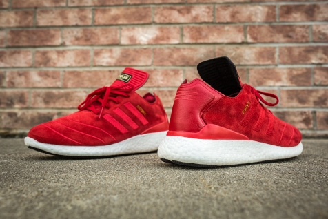 adidas Busenitz Pure Boost Red-10